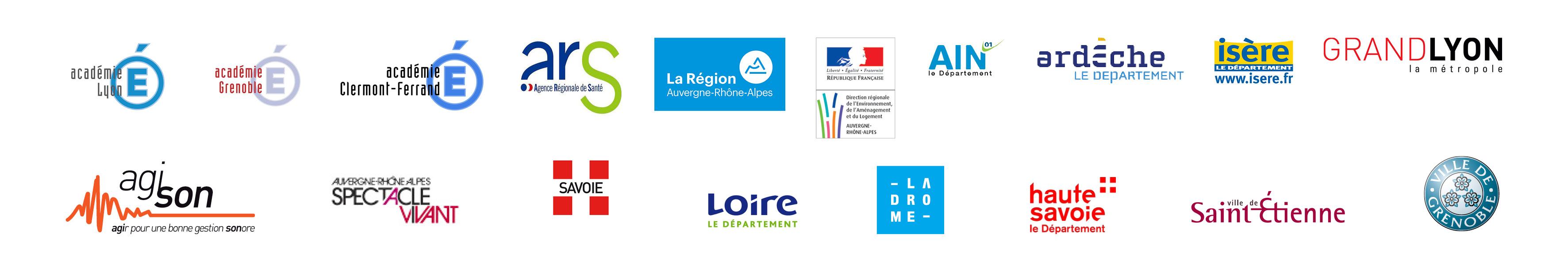 logos des partenaires dose le son