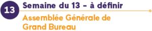 assemblée générale semaine du 13 mai