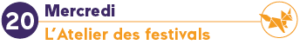 mercredi 20.03 atelier festivals