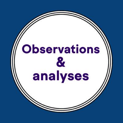 vignette observations et analyses